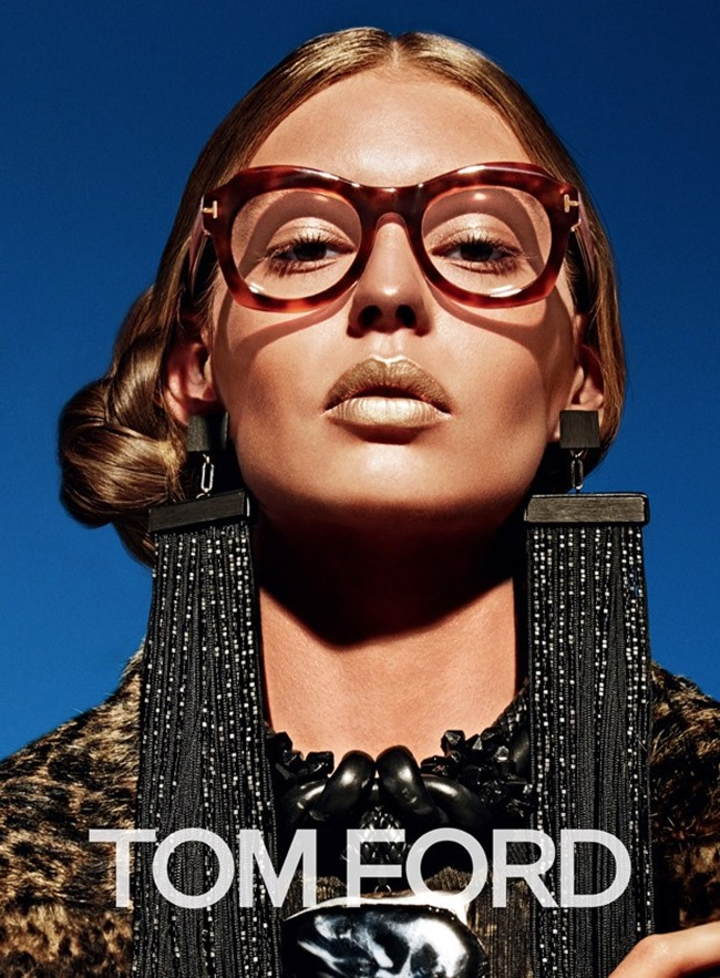 CAMPAIGN Ondria Hardin for Tom Ford Fall 2015 by Mario Sorrenti. Carine Roitfeld, www.imageamplified.com, Image Amplified (3)