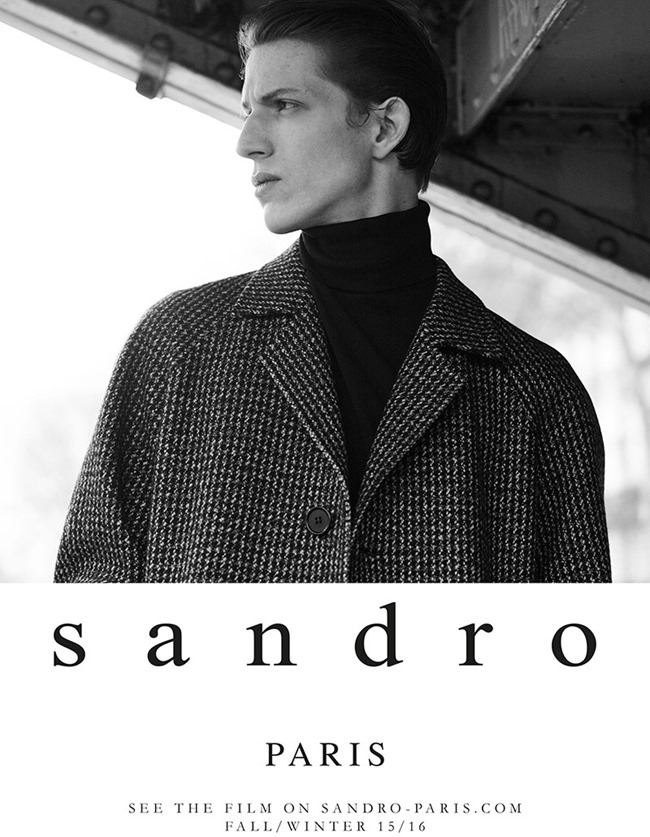 CAMPAIGN Xavier Buestel for Sandro Fall 2015 by Karim Sadli. Joe McKenna, www.imageamplified.com, Image Amplified (3)