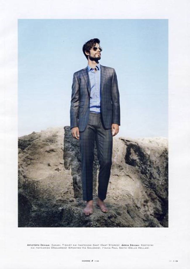 HOMME MAGAZINE GREECE Yiorgos Karavas by Bill Georgussis. Summer 2015, www.imageamplified.com, Image Amplified (1)
