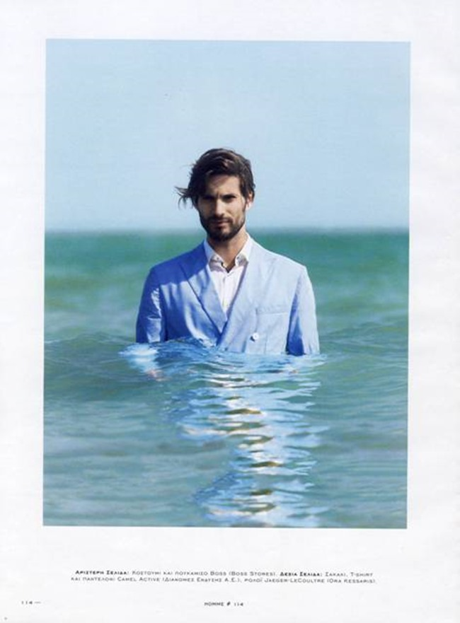 HOMME MAGAZINE GREECE Yiorgos Karavas by Bill Georgussis. Summer 2015, www.imageamplified.com, Image Amplified (6)