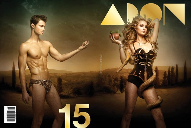 PREVIEW Paris Hilton for Adon Magazine, Summer 2015 by Mike Ruiz. www.imageamplified.com, Image Amplified (3)