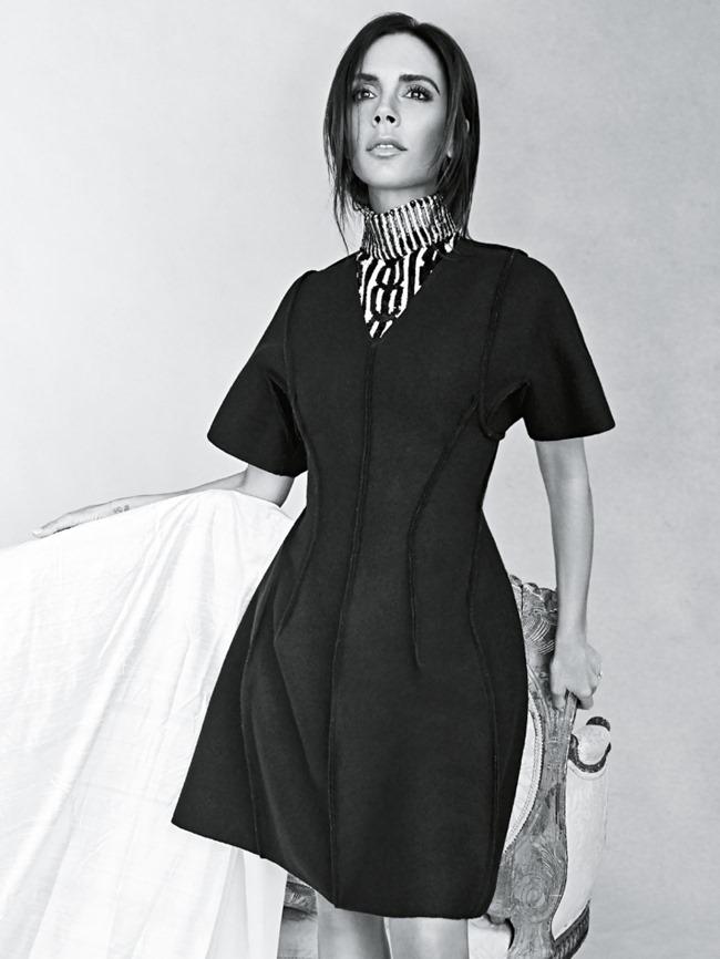 VOGUE AUSTRALIA Victoria Beckham by Patrick Demarchelier. Christine Centenera, August 2015, www (2)