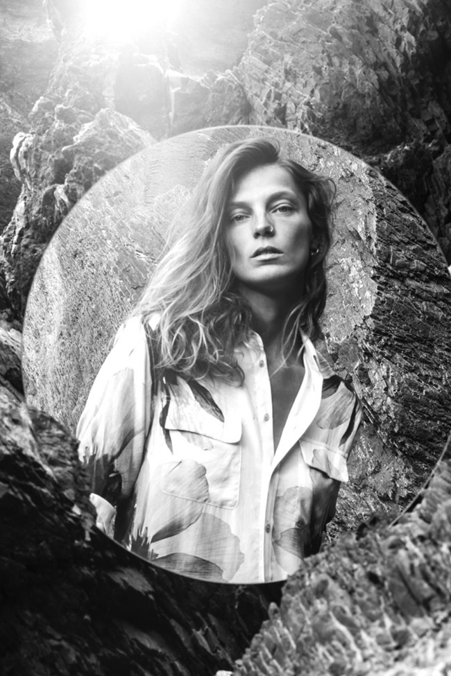 CAMPAIGN Daria Werbowy for Equipment Fall 2015 by Daria Werbowy. www.imageamplified.com, Image Amplified (2)
