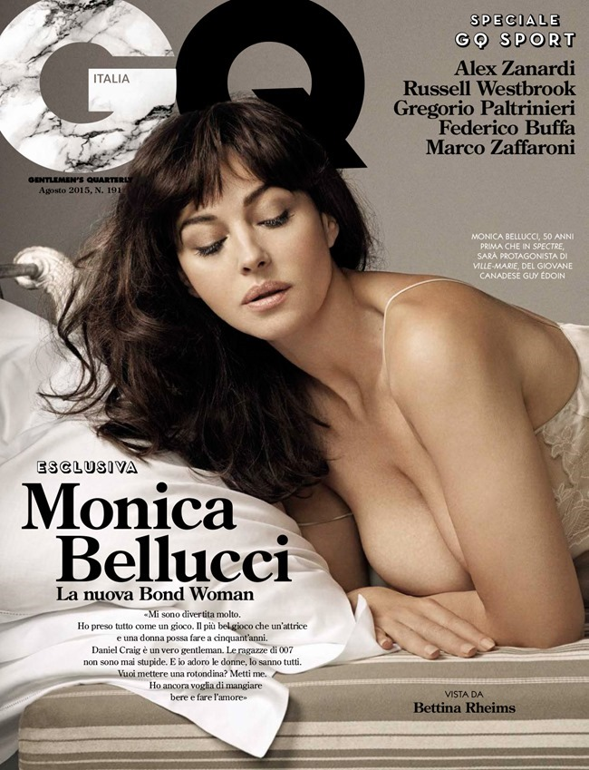 GQ ITALIA Monica Belucci by Bettina Rheims. August 2015, www.imageamplified.com, Image Amplified