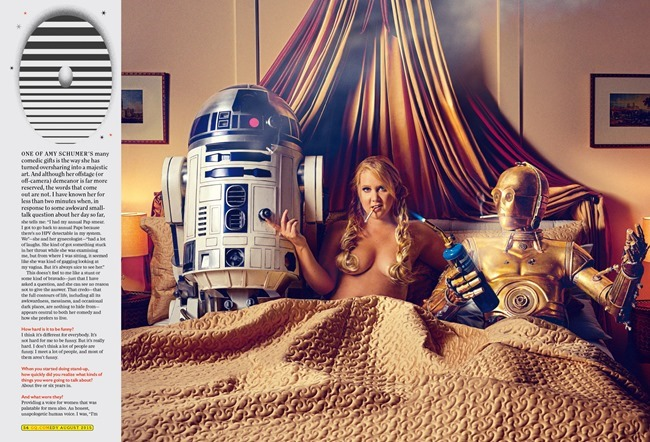 GQ MAGAZINE Amy Schumer by Mark Seliger. August 2015, www.imageamplified.com, Image Amplified