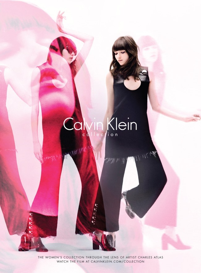 CAMPAIGN Filip Hrivnak & Grace Hartzel for Calvin Klein Collection Fall 2015 by Charles Atlas. Camilla Nickerson, www.imageamplified.com, Image Amplified (8)
