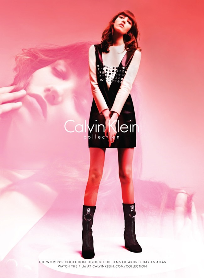 CAMPAIGN Filip Hrivnak & Grace Hartzel for Calvin Klein Collection Fall 2015 by Charles Atlas. Camilla Nickerson, www.imageamplified.com, Image Amplified (1)