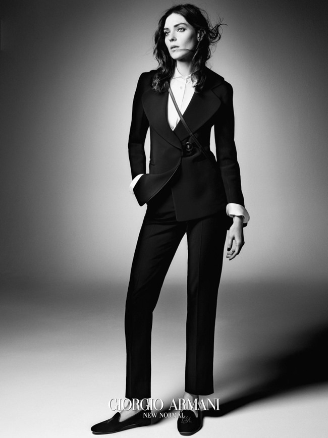 CAMPAIGN Kati Nescher for Giorgio Armani Fall 2015 by Solve Sundsbo. Beat Bolliger, www.imageamplified.com, Image Amplified (4)