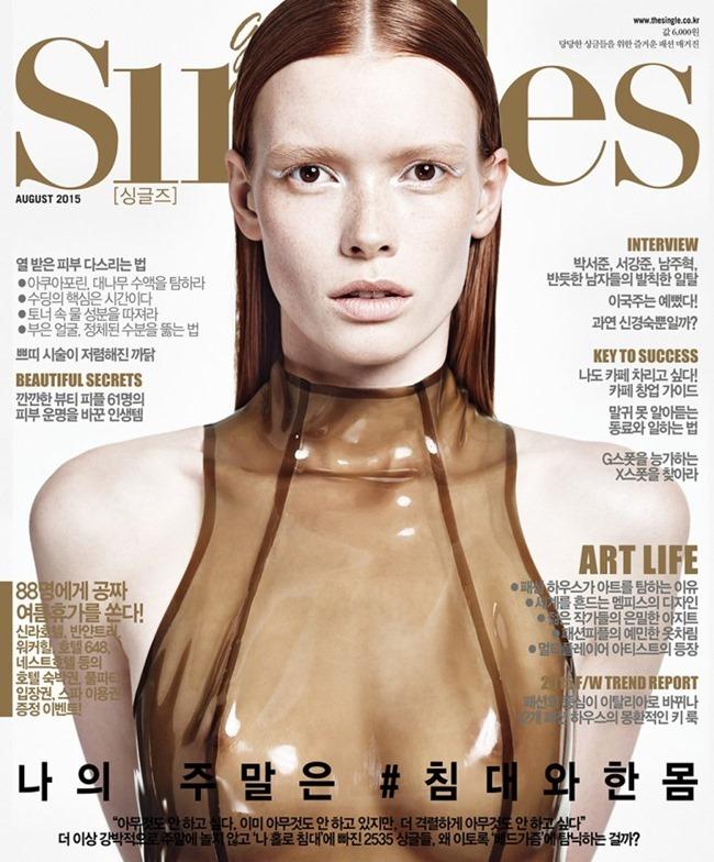 SINGLES KOREA Julia Hafstrom by Hong Jang Hyun. Jen Patryn, August 2015, www.imageamplified.com, Image Amplified (2)