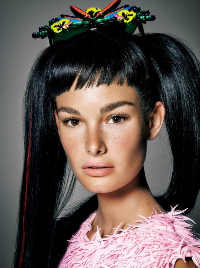 VOGUE JAPAN Ophelie Guillermand by Kenneth Willardt. Tina Chai, September 2015, www.imageamplified.com, Image Amplified (1)