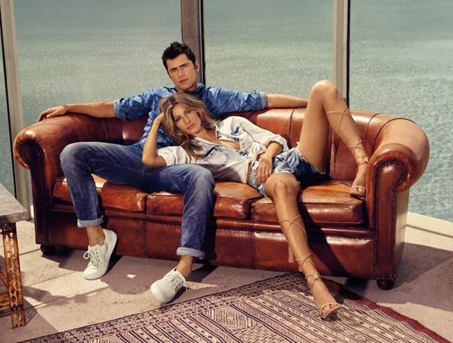 CAMPAIGN Gisele Bundchen & Sean O'Pry for Colcci Spring 2016 by Nino Munoz. www.imageamplified.com, Image Amplified (2)