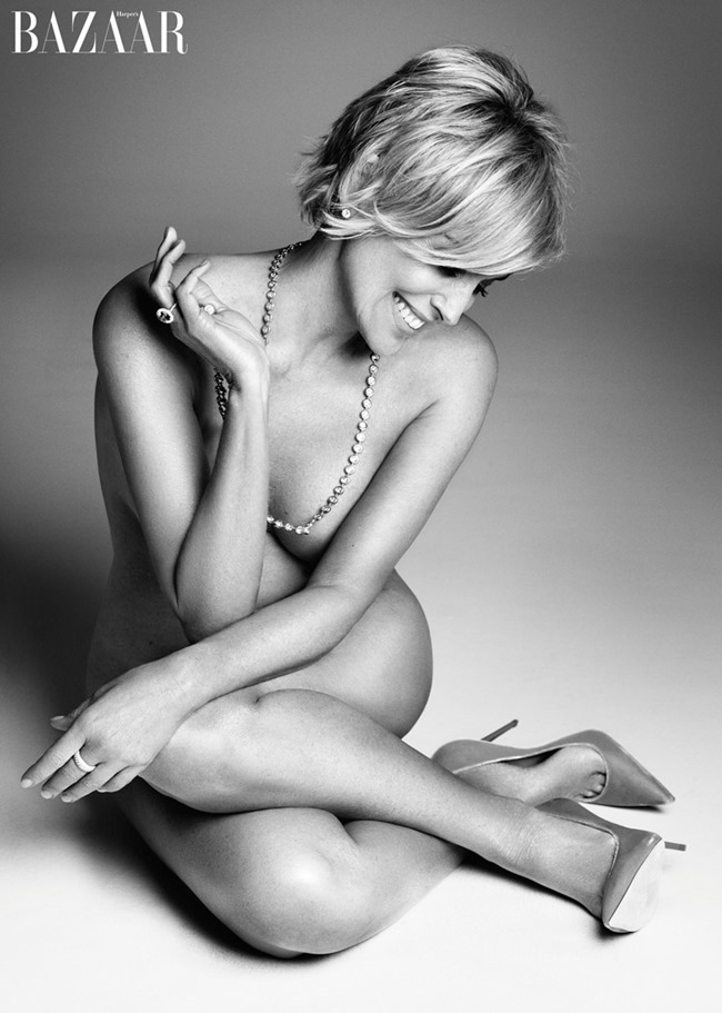 HARPER'S BAZAAR MAGAZINE Sharon Stone by Mark Abrahams. September 2015, www.imageamplified.com, Image Amplified (1)