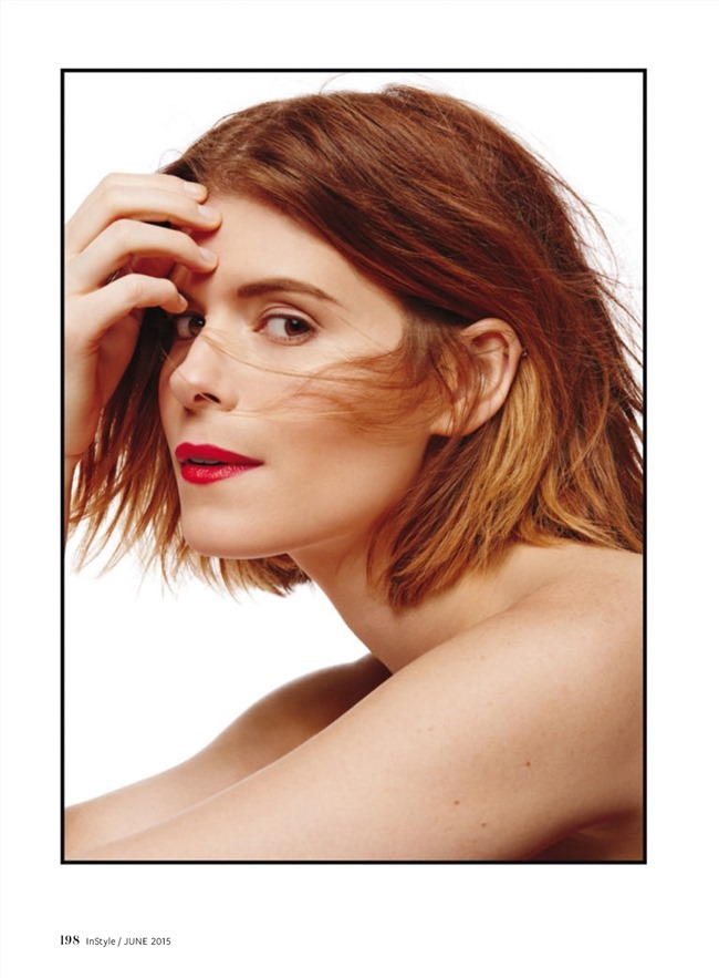 INSTYLE MAGAZINE Kate Mara by Giampaolo Sgura. Melissa Rubinni, June 2015, www.imageamplified.com, Image Amplified