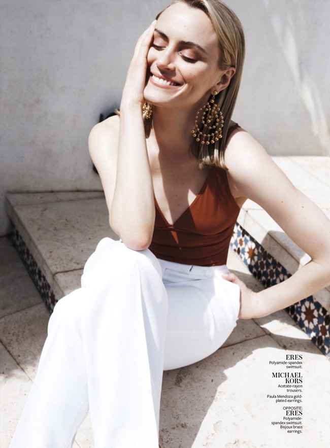 INSTYLE MAGAZINE Taylor Schilling by Jan Welters. Melissa Rubinni, June 2015, www.imageamplified.com, Image Amplified
