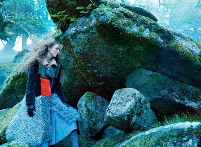 VOGUE MAGAZINE Raquel Zimmermann by Mikael Jansson. Tabitha Simmons, September 2015, www.imageamplified.com, Image amplified (9)