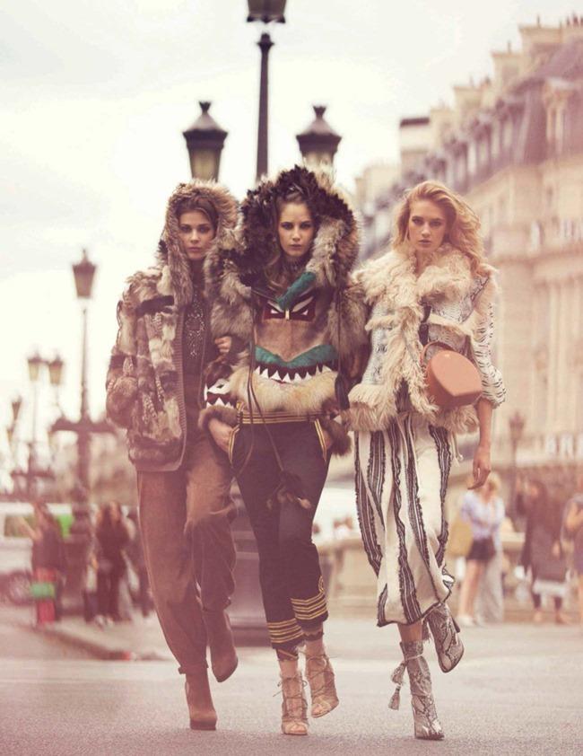 VOGUE SPAIN Sanne Vloet, Larissa Hofmann & Melina Gesto by David Bellemere. Marina Gallo, September 2015, www.imageamplified.com, Image Amplified (1)