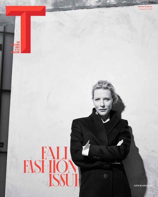 T STYLE MAGAZINE Cate Blanchett by Karim Sadli. Joe McKenna, Fall 2015, www.imageamplified.com, Image amplified (1)