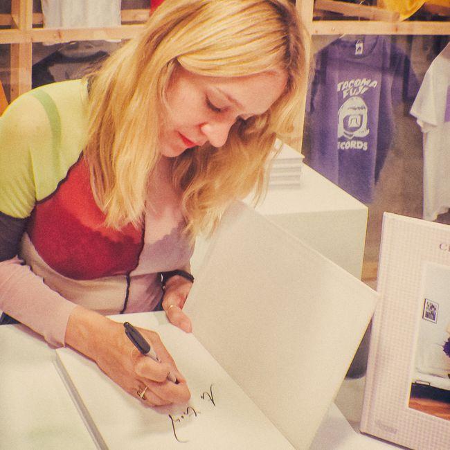 FASHION UPDATE: Chloe Sevigny at IDEA Books, Dover Street Market