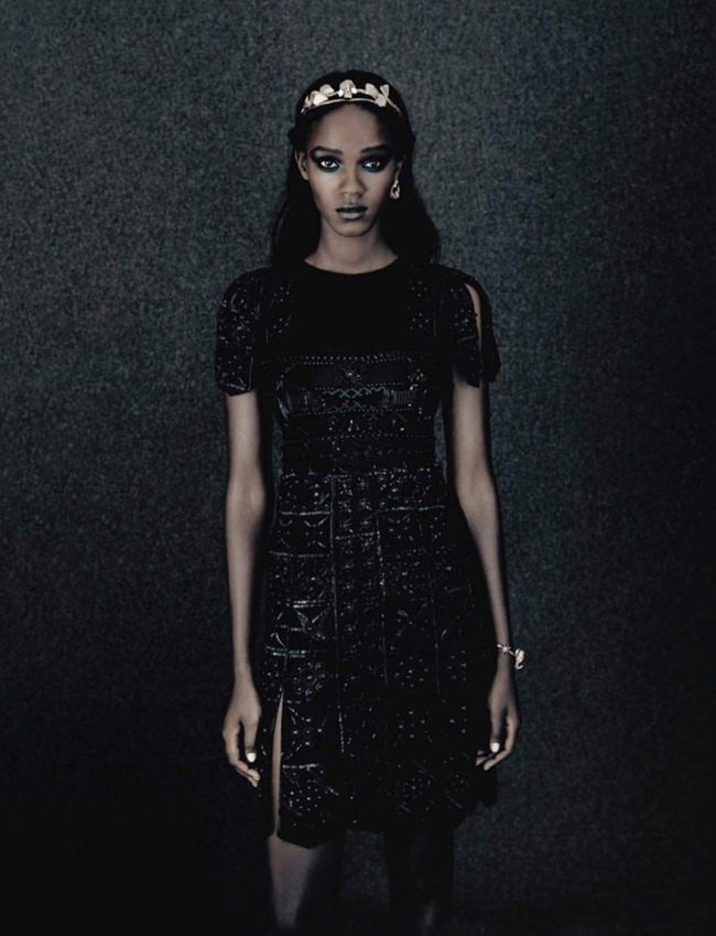 VOGUE ITALIA Leila Nda by Paolo Roversi. Panos Yiapanis, September 2015, www.imageamplified.com, Image amplified (2)
