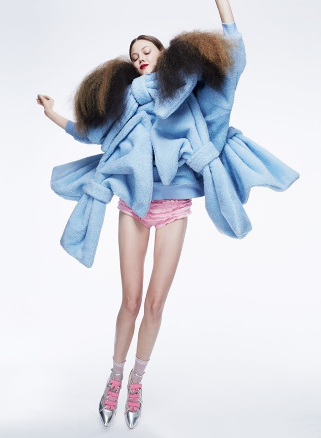 V MAGAZINE Lindsey Wixson by Anthony Maule. Brandon Maxwell, Fall 2015, www.imageamplified.com, Image Amplified (1)