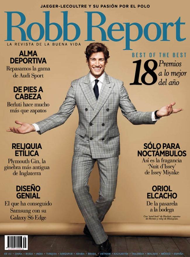 ROBB REPORT Oriol Elcacho by Nani Gutierrez. Carmina Rivas, Fall 2015, www.imageamplified.com, Image Amplified (1)