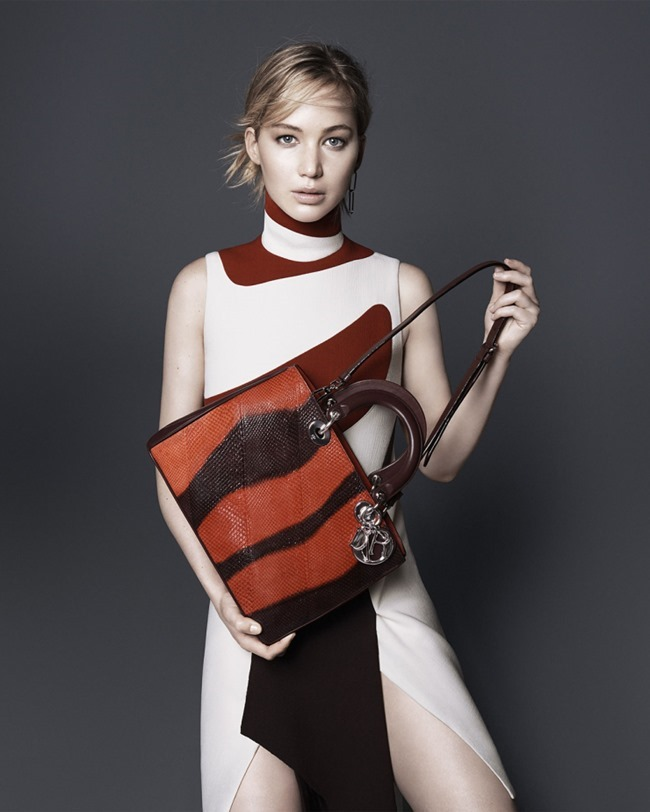 CAMPAIGN Jennifer Lawrence for Dior Accessories Fall 2015 by David Sims. www.imageamplified.com, Image Amplified (6)
