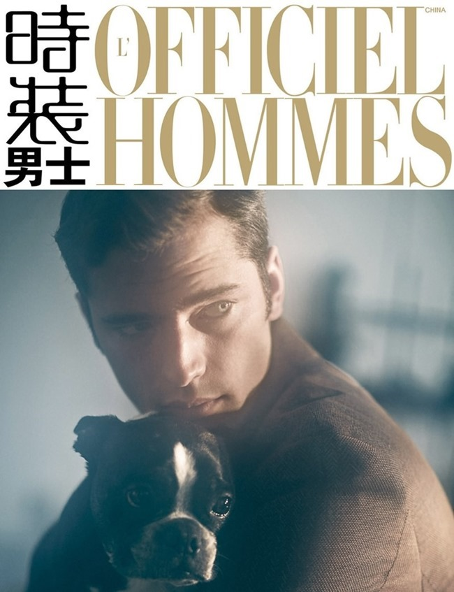 STYLE REWIND Sean O'Pry for L'Officiel Hommes China, January 2015 by Jun Liu. Julie Ragolia, www.imageamplified.com, Image Amplified (9)