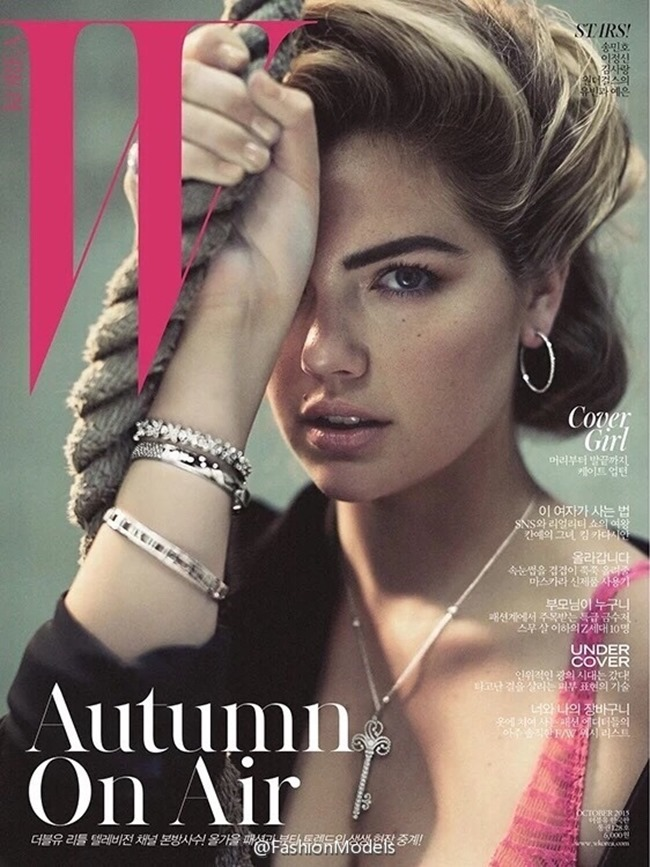W KOREA Kate Upton by Norman Jean Roy. October 2015, www.imageamplified.comm, Image Amplified (7)