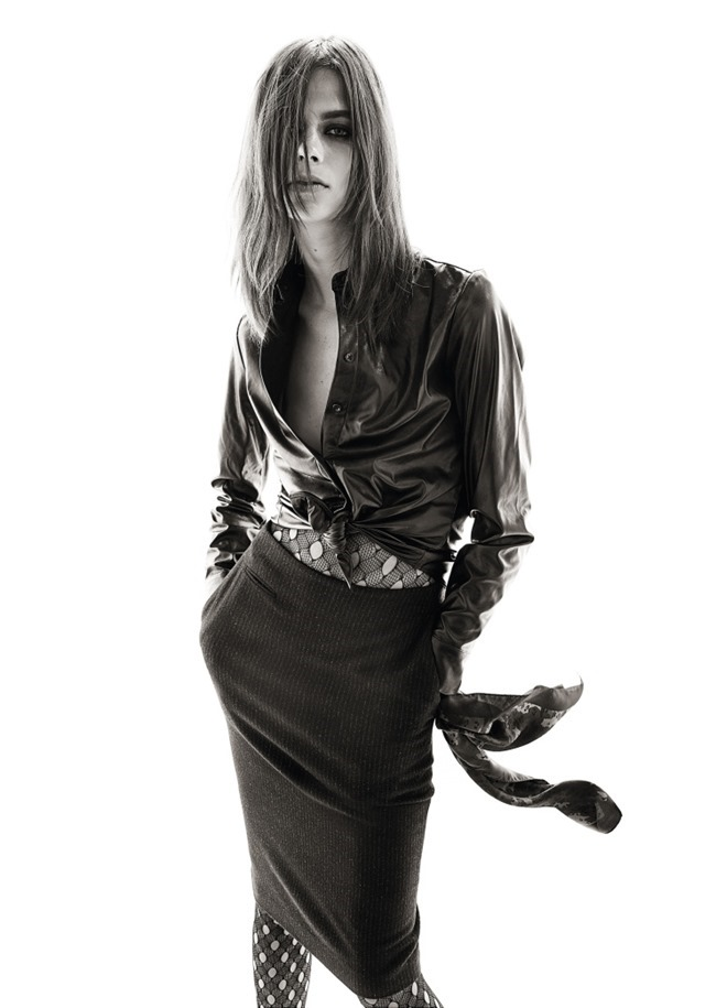 CAMPAIGN Lexi Boling for Uniqlo x Carine Roitfeld 2015 by Steven Meisel. www.imageamplified.com, Image Amplified (5)