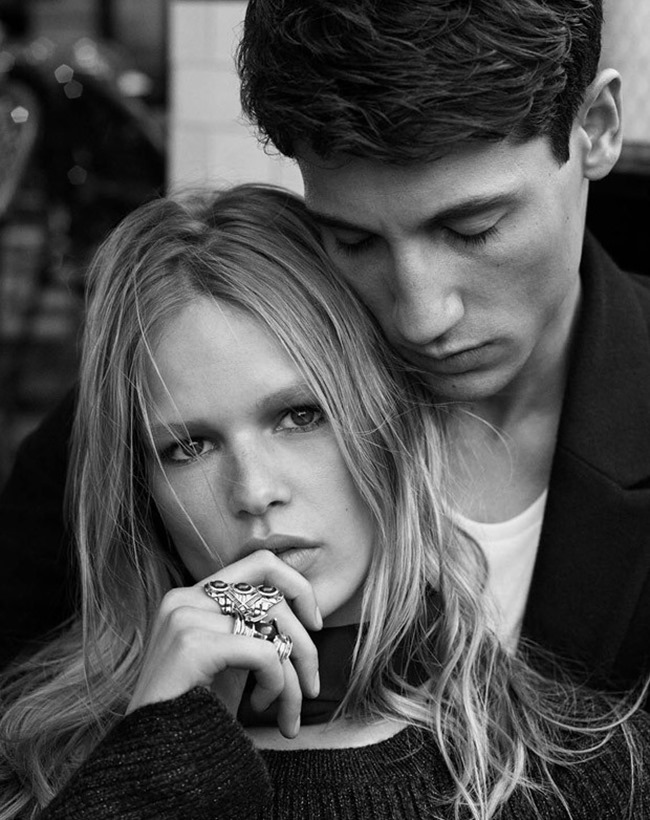 CAMPAIGN Nicolas Ripoll & Anna Ewers for H&M Fall 2015 by Josh Olins. David Hagglund, www.imageamplified.com, Image Amplified (8)