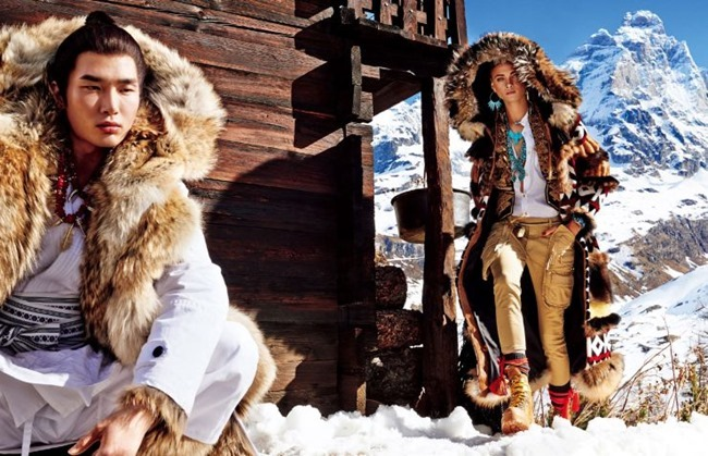 VOGUE JAPAN Sacred Tribes of Mont Cervin by Giampaolo Sgura. Anna Dello Russo, Miguel Arnau, November 2015, www.imageamplified.com, Image Amplified (6)