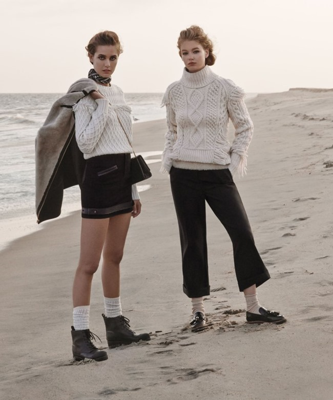 W MAGAZINE Hollie May Saker & Nadja Bender by Jason Kibbler. Patrick Mackie, November 2015, www.imageamplified.com, Image Amplified (1)