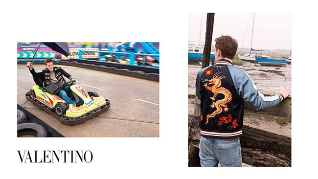CAMPAIGN George Barnett & Egon Van Praet for Valentino Spring 2016 by David Bailey. Karl Templer, www.imageamplified.com, Image Amplified (2)