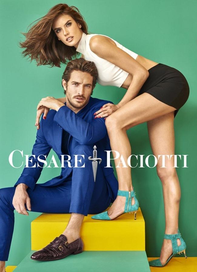 CAMPAIGN Alessandra Ambrosio & Justice Joslin for Cesare Paciotti Spring 2016 by Mariano Vivanco. www.imageamplified.com, image Amplified (3)