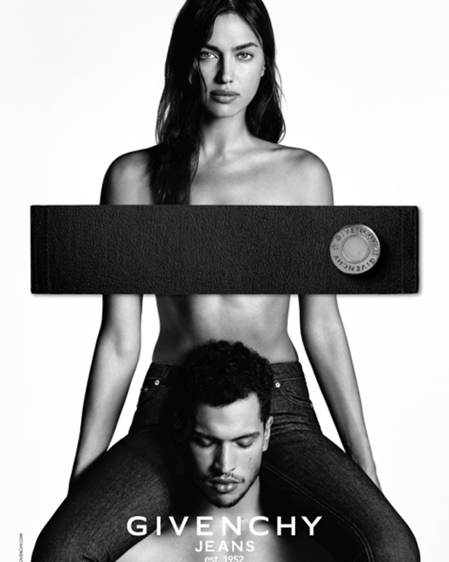 CAMPAIGN Irina Shayk & Chris Moore for Givenchy Jeans Spring 2016 by Luigi & Iango. Carine Roitfeld, www.imageamplified.com, Image Amplified (4)