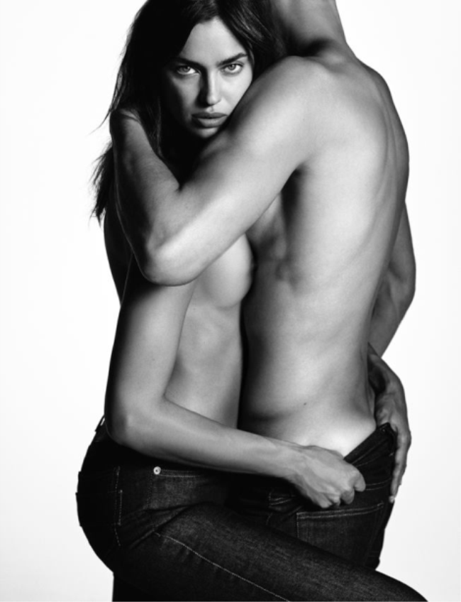 CAMPAIGN Irina Shayk & Chris Moore for Givenchy Jeans Spring 2016 by Luigi & Iango. Carine Roitfeld, www.imageamplified.com, Image Amplified (1)