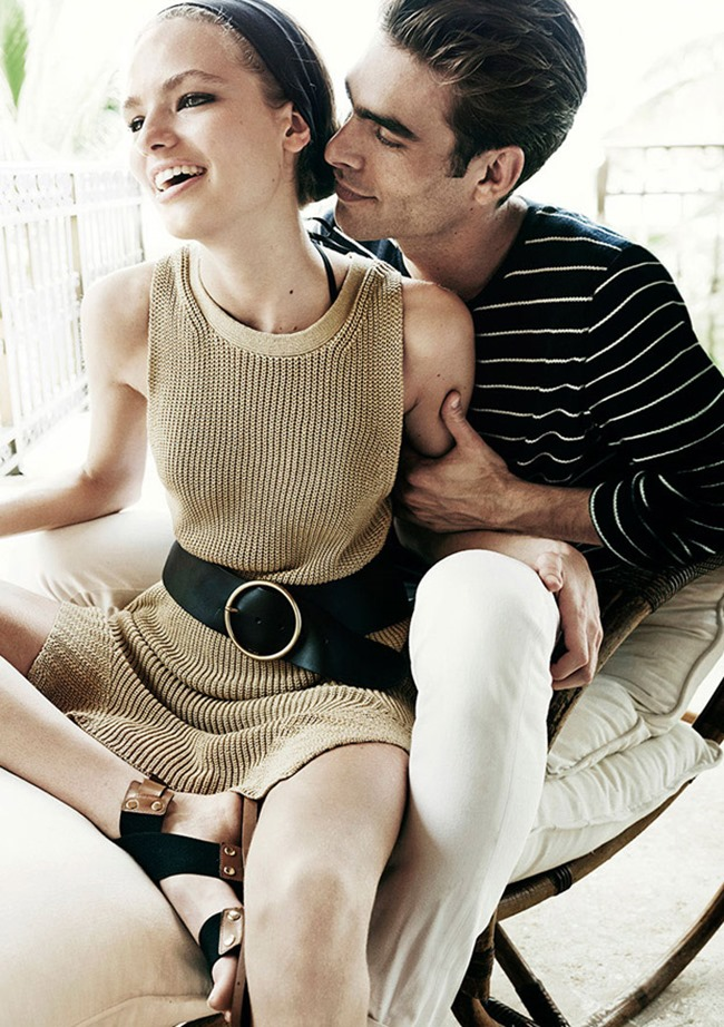 CAMPAIGN Jon Kortajarena & Anna Mila Guyenz for Massimo Dutti Spring 2016 by Mario Testino. www.imageamplified.com, Image Amplified (9)