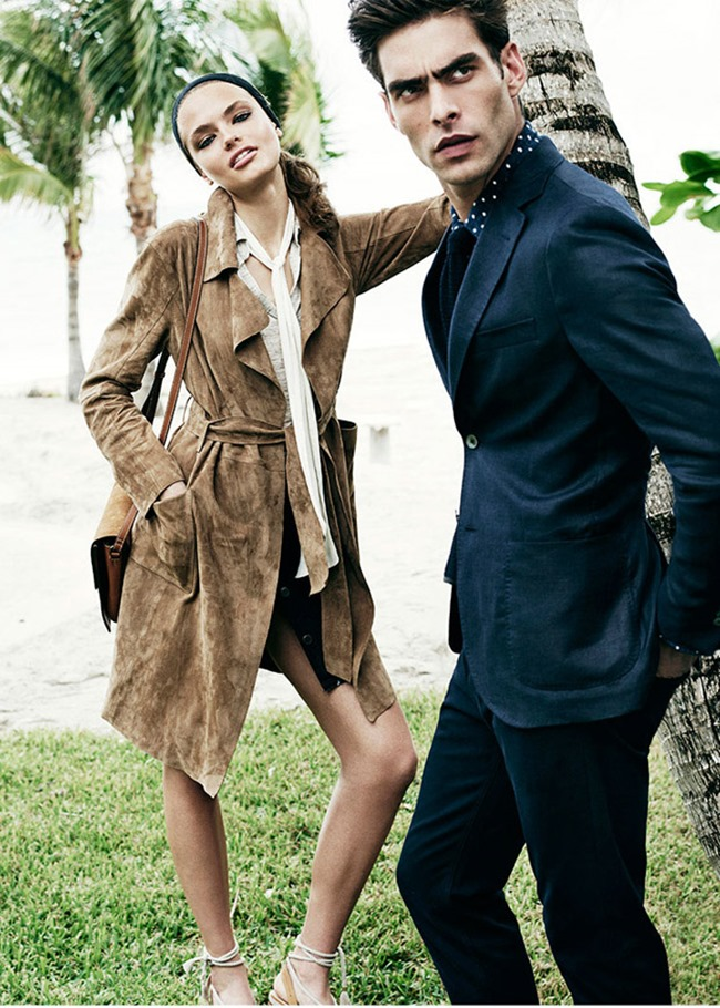 CAMPAIGN Jon Kortajarena & Anna Mila Guyenz for Massimo Dutti Spring 2016 by Mario Testino. www.imageamplified.com, Image Amplified (7)