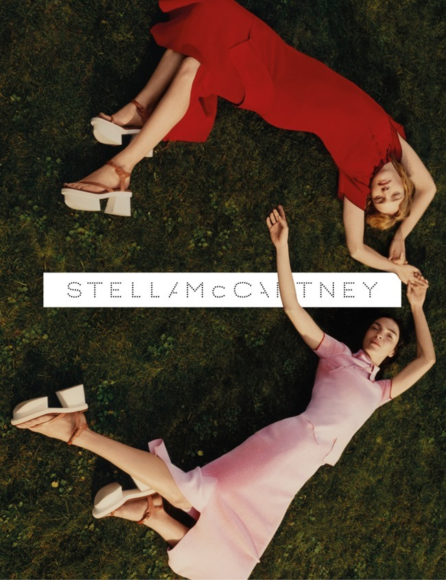 CAMPAIGN Mariacarla Boscono & Natalia Vodianova for Stella McCartney Spring 2016 by Harley Weir. www.imageamplified.com, Image Amplified (3)