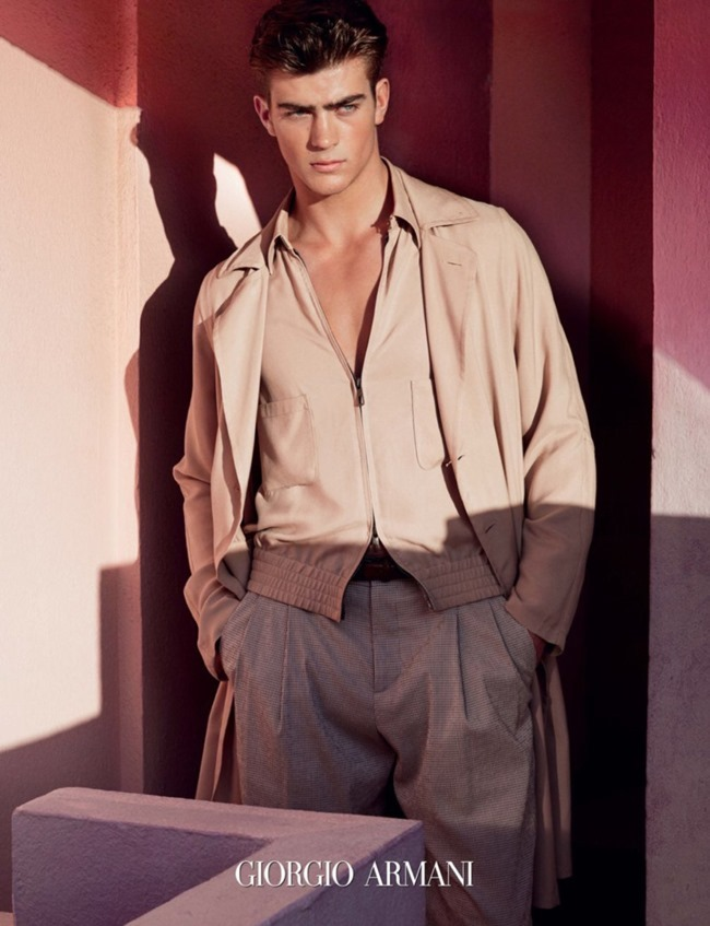 CAMPAIGN Zandre du Plessis for Giorgio Armani Spring 2016 by Solve Sundsbo. Beat Bolliger, www.imageamplified.com, Image Amplified (2)