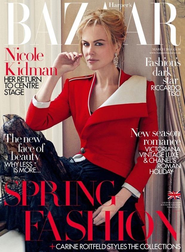 HARPER'S BAZAAR UK Nicole Kidman by Norman Jean Roy. Miranda Almond, March 2016, www.imageamplified.com, Image Amplified (2)