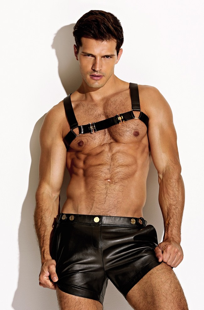 CAMPAIGN Diego Miguel for Charlie by Matthew Zink Leather Collection 2016. www.imageamplified.com, Image Amplified (8)
