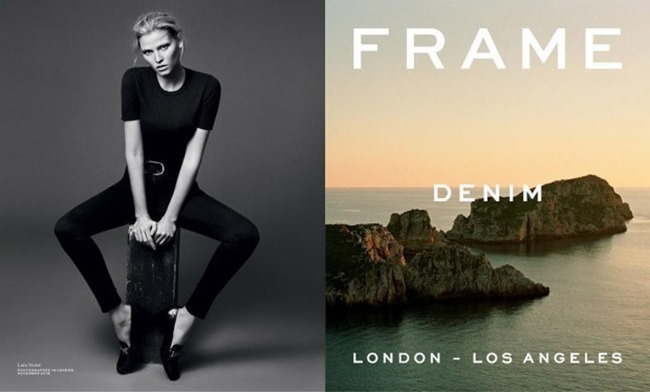 CAMPAIGN Lara Stone for Frame Denim Spring 2016 by Erik Tortensson. George Cortina, www.imageamplified.com, Image Amplified (2)