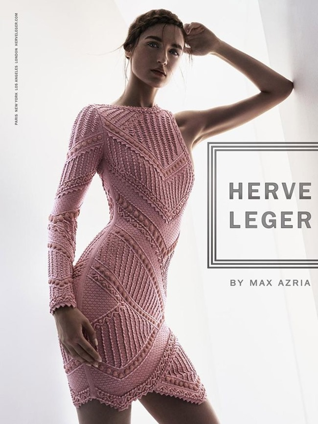 CAMPAIGN Stasha Yatchuk for Herve Leger by Max Azria Spring 2016 by Boe Marion. Elizabeth Cabral, www.imageamplified.com, Image Amplified (3)