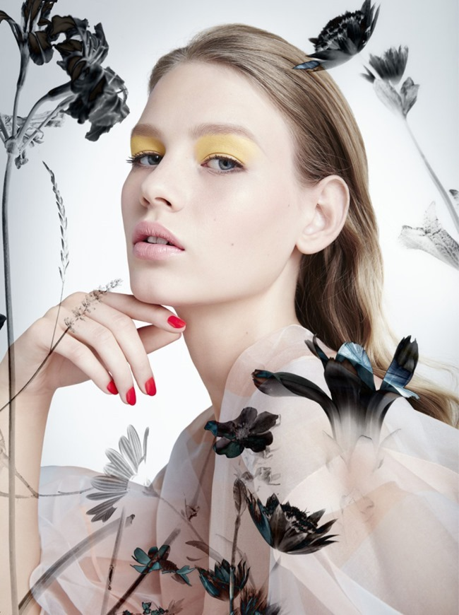 DIOR MAGAZINE Sofia Mechetner by Camilla Akrans. Spring 2016, www.imageamplified.com, Image Amplified (4)