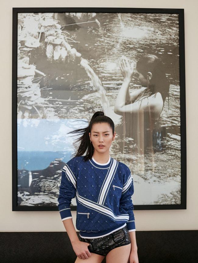 ELLE CHINA Liu Wen by Yuan Gui Mei. Jin Jing, March 2016, www.imageamplified.com, Image Amplified (2)