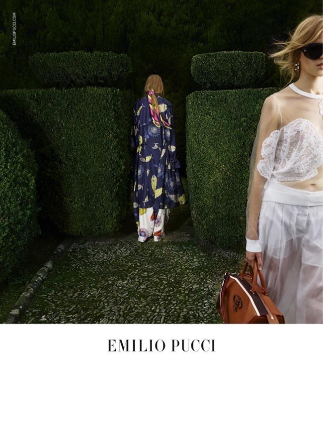 CAMPAIGN Odette Pavolova & Kadri Vahersalu for Emilio Pucci Spring 2016. www.imageamplified.com, Image Amplified (1)
