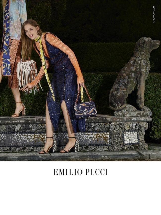 CAMPAIGN Odette Pavolova & Kadri Vahersalu for Emilio Pucci Spring 2016. www.imageamplified.com, Image Amplified (3)