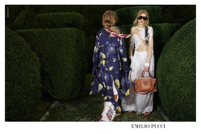 CAMPAIGN Odette Pavolova & Kadri Vahersalu for Emilio Pucci Spring 2016. www.imageamplified.com, Image Amplified (6)