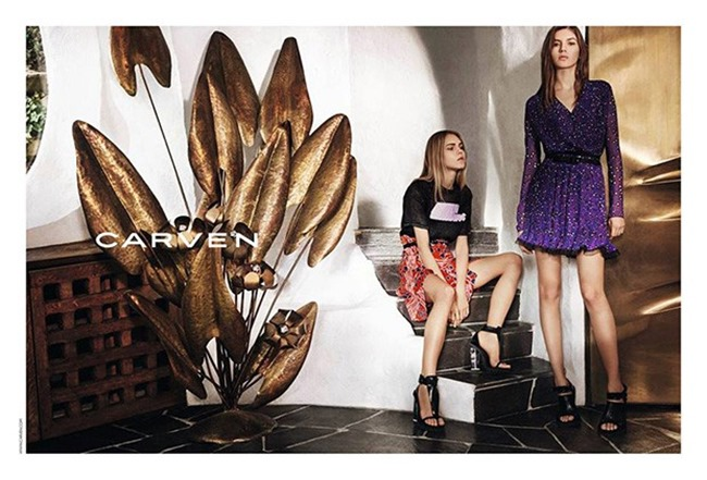 CAMPAIGN Valery Kaufman & Line Brems for CARVEN Spring 2016 by Theo Wenner, www.imageamplified.com, Image amplified (3)
